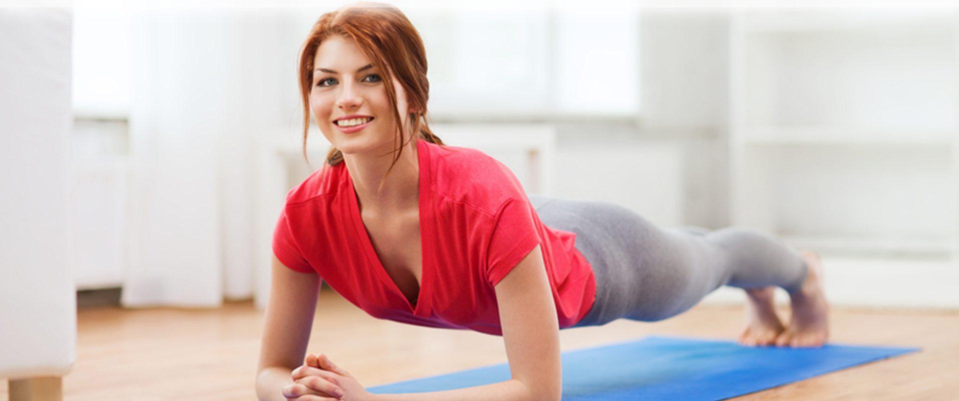 Домашняя фитнес-тренировка за 7 минут
