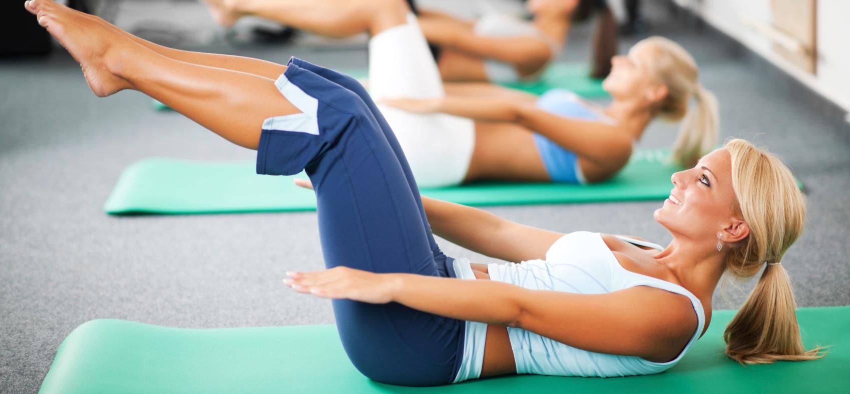 Упражнения «пилатес» для начинающих