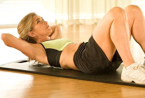 Фитнес - упражнения для пресса. Сделай свой животик рельефным и красивым!