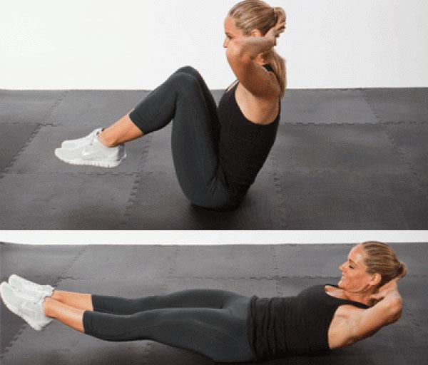 Эти упражнения уберут жир с низа живота за неделю! Твои мышцы...