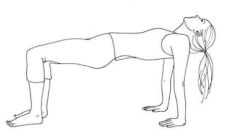 5 тибетских упражнений для омоложения