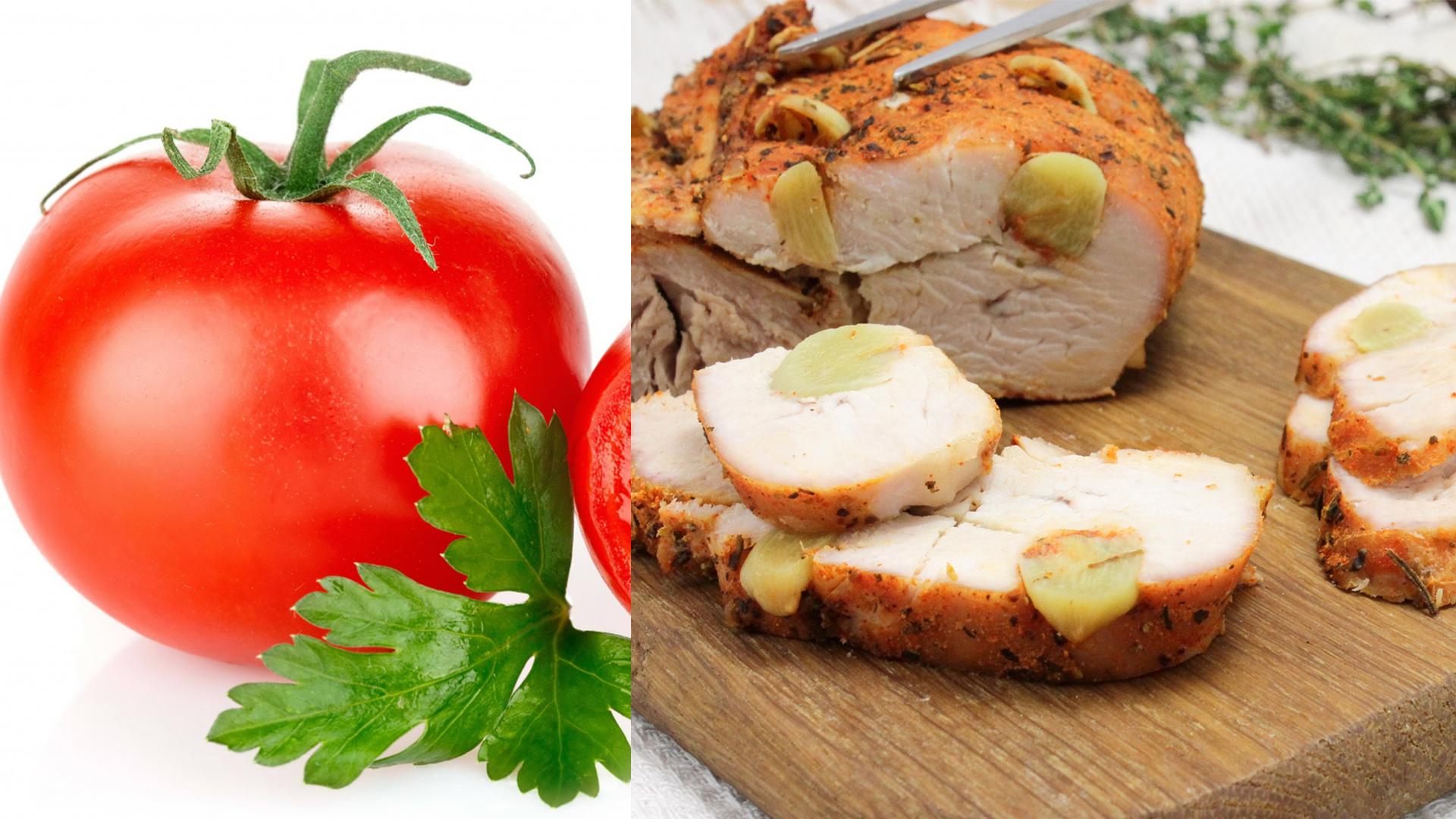 kuritsa-pomidory
