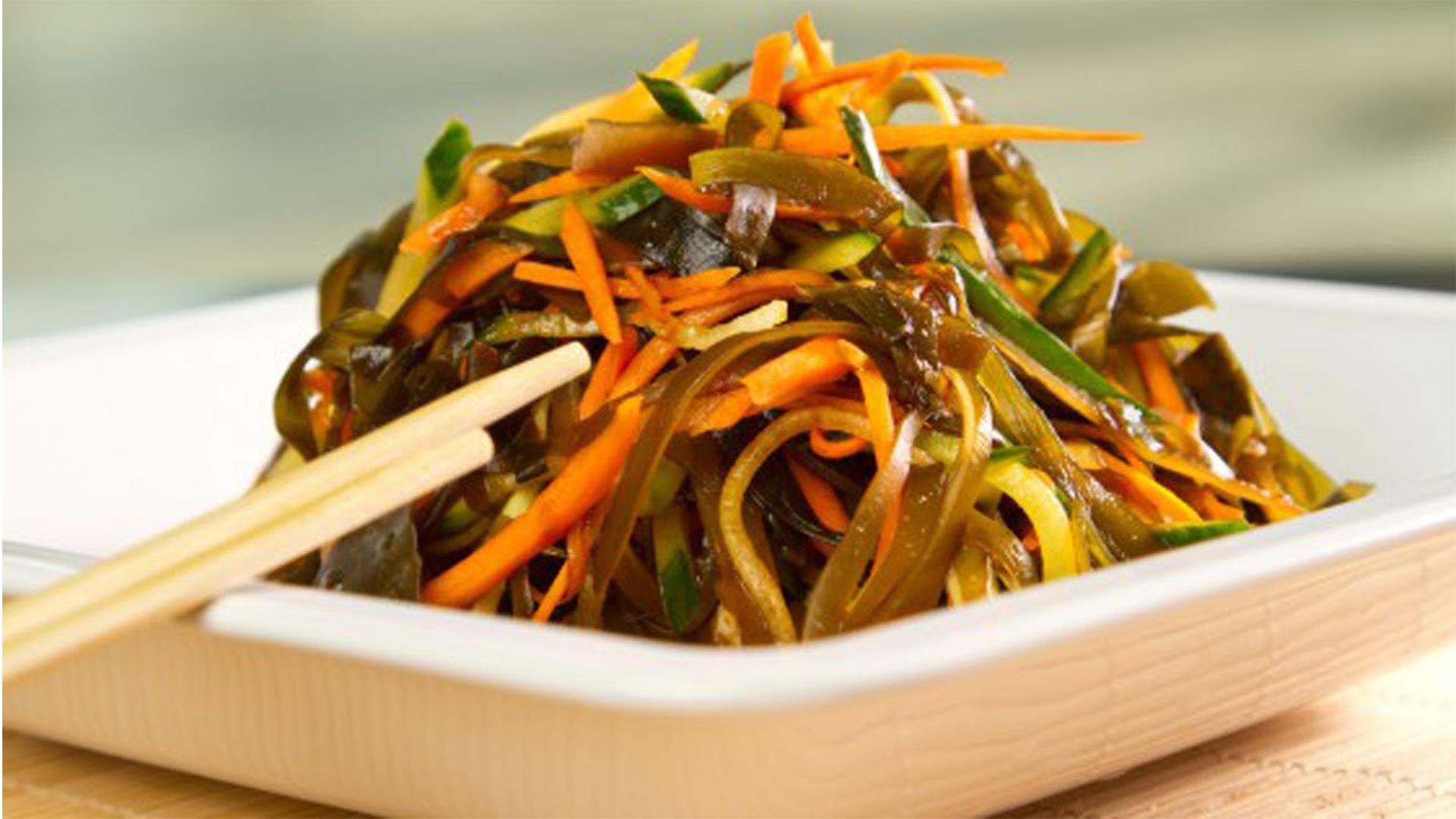Рецепт салатов из морской капусты