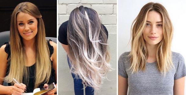 Как покрасить волосы модно картинки