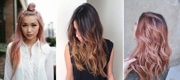 Модна покраска волос 2017