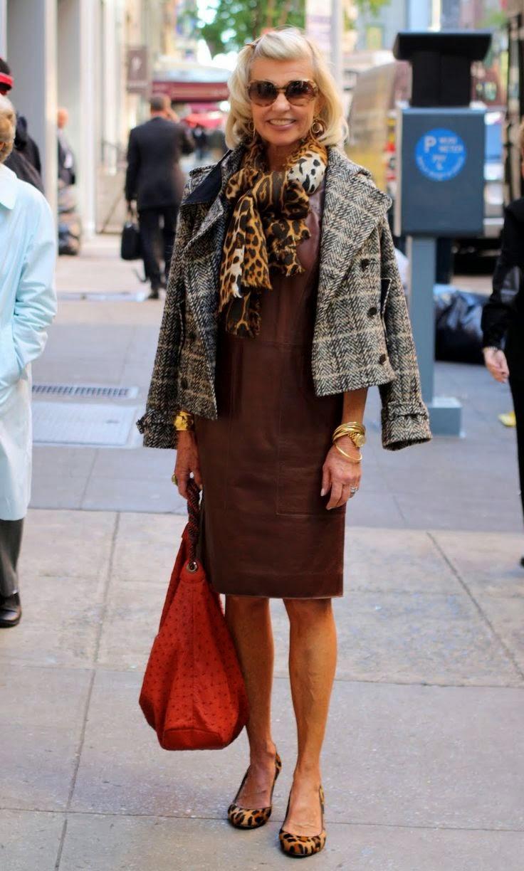 Гардероб женщины за 60