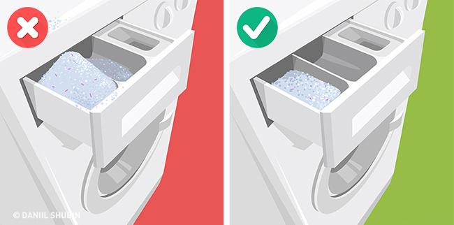 Как правильно стирать в машинке