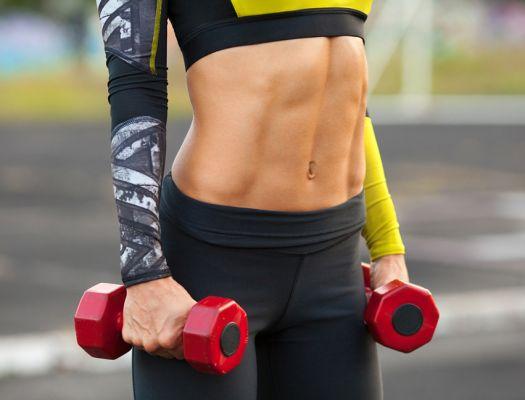 Женские упражнения для пресса