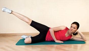 7 действенных упражнений для бёдер и живота