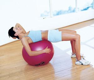 На пресс упражнения