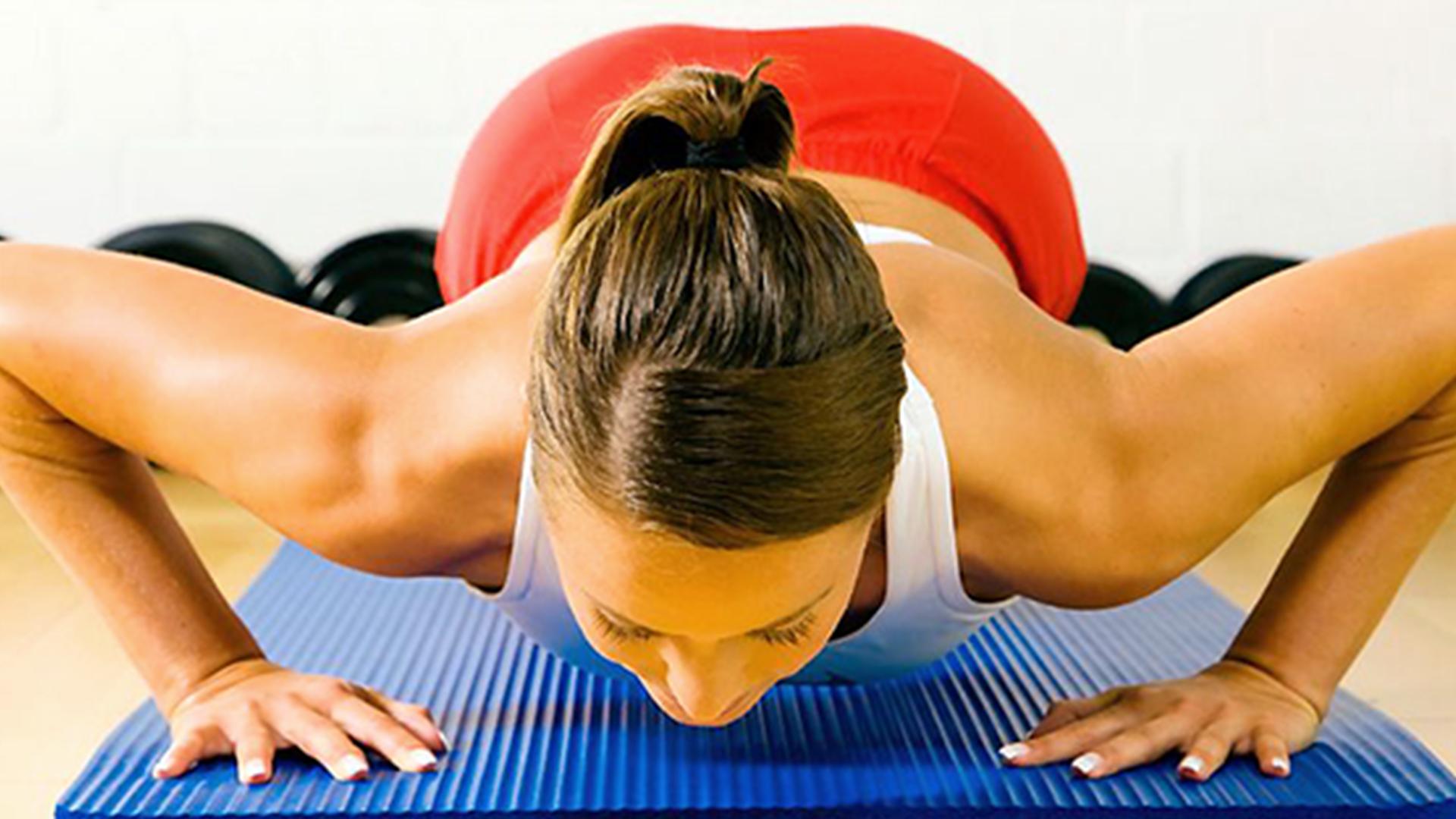 Упражнение для увеличения грудных мышц в домашних условиях