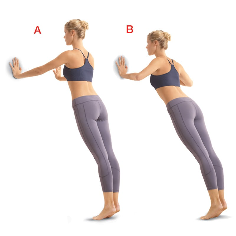 4 эффективных упражнения у стены