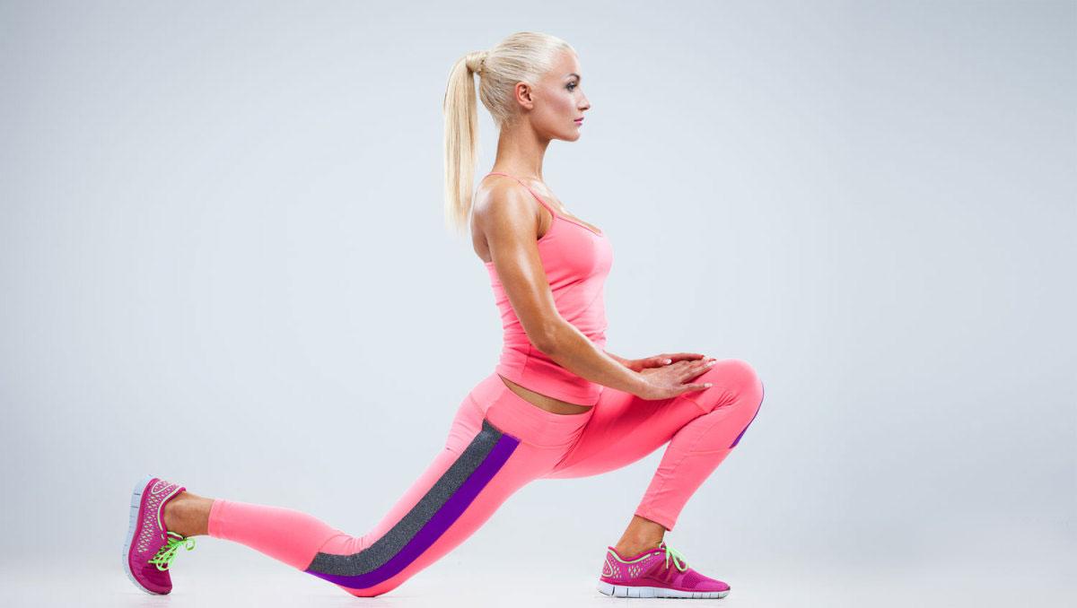 ТОП-6 лучших упражнений для ног и ягодиц