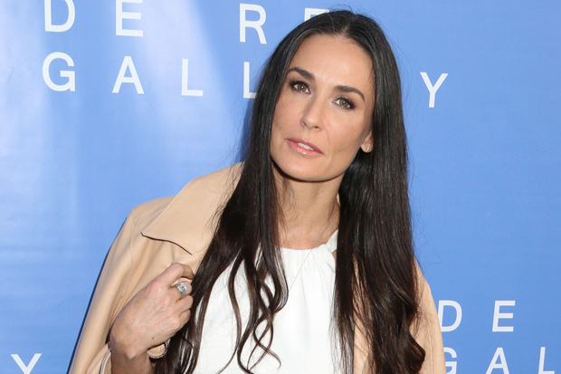 51413624 Celebrities attend the grand opening of the De Re Gallery on May 15, 2014 in West Hollywood, California. Celebrities attend the grand opening of the De Re Gallery on May 15, 2014 in West Hollywood, California. Pictured: Demi Moore FameFlynet, Inc - Beverly Hills, CA, USA - +1 (818) 307-4813