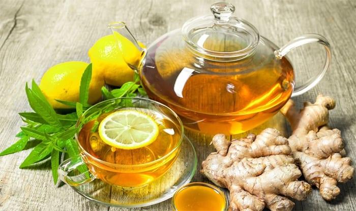 Имбирный чай - вкусно и полезно!