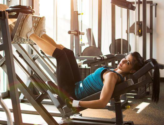 Тренировка нижней части тела