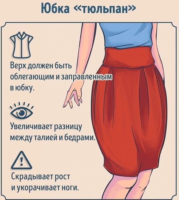 С чем одеть юбку