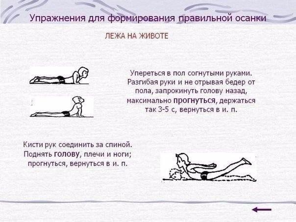 Красивая осанка. Упражнения против болей в спине
