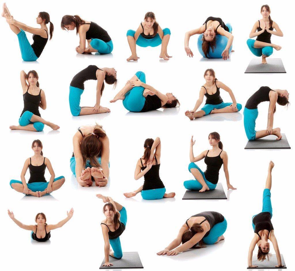 Уроки по йоге для похудения