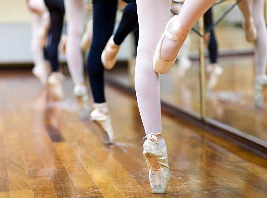Сделайте красивые ноги как у балерин