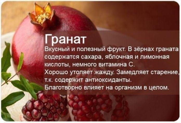 Невероятная польза фруктов