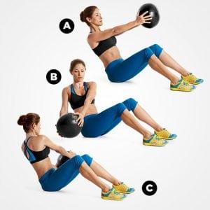 Упражнения, которые более эффективны, чем скрутки