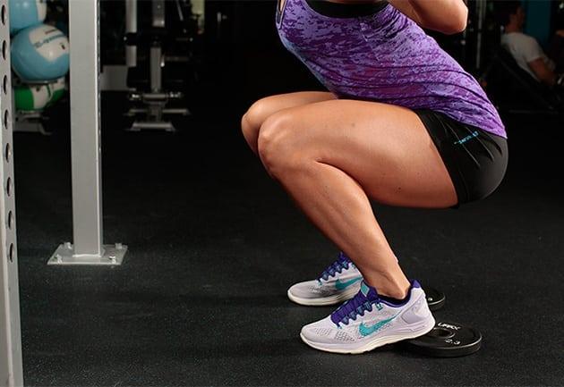 Интенсивная тренировка ног