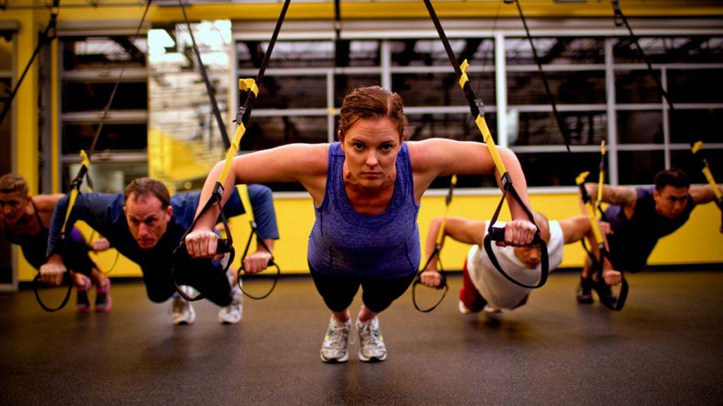 Тренировка с тренажером TRX для женщин