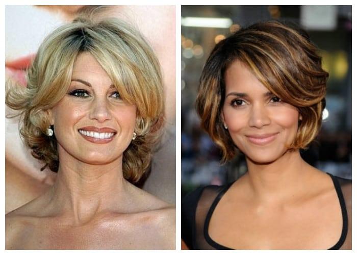 Укладка на короткие волосы фото с объемом для женщин 45 лет