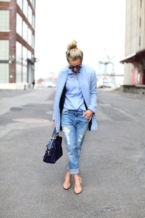 Три модные модели джинсов: 9 фото