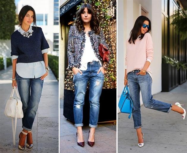3 топовые модели джинсов в 2017: бойфренды, герлфренды и мам-джинсы. Смотрятся шикарно!