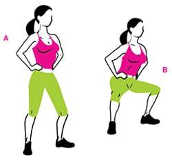 4 эффективных упражнения для рук, бедер и живота