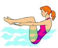 5 лучших упражнений в бассейне