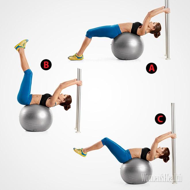 5 упражнений, благодаря которым на животе появятся кубики!