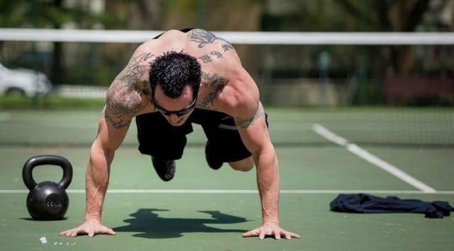 57 вариантов домашних тренировок по системе Кроссфит