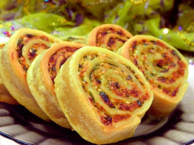 Алупатры - вкусные диетические рулеты из картошки. Легкий рецепт