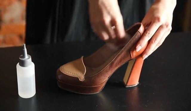 Как быстро разносить узкую обувь