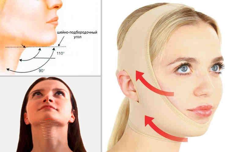 Как подтянуть овал лица в домашних условиях без хирургических вмешательств
