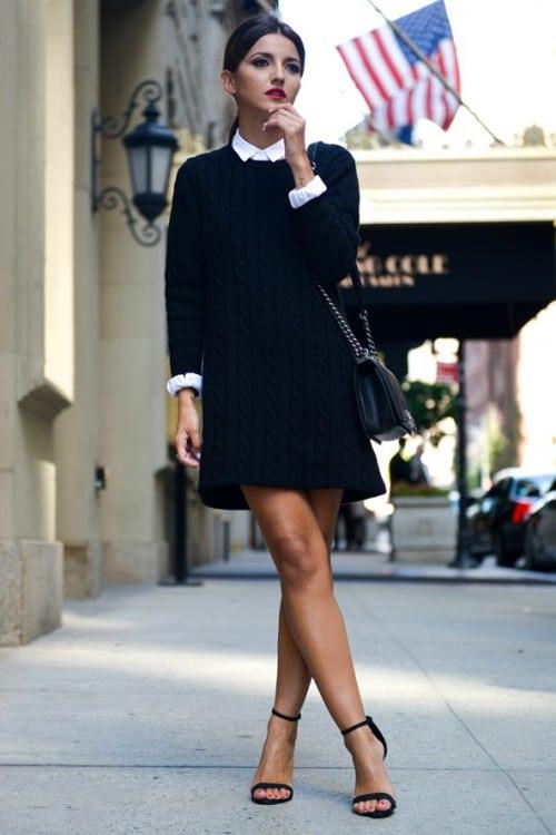 Маленькое черное платье для разных возрастов и типов фигур