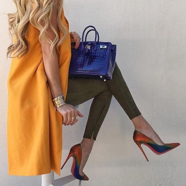 Учимся правильно сочетать обувь и сумку. 18 элегантных идей