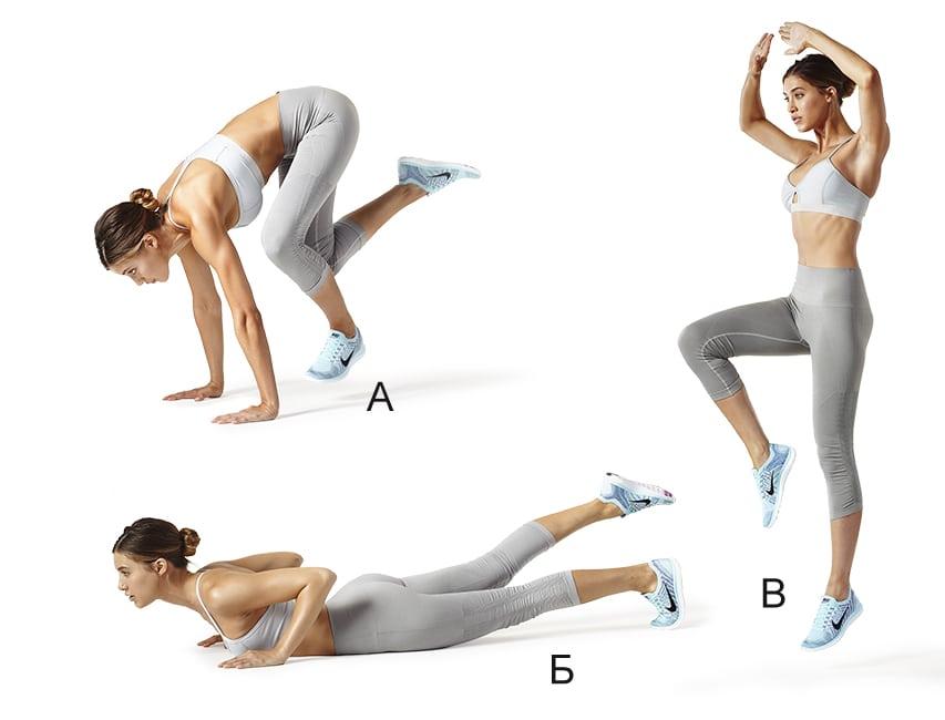 ТОП 8 упражнений для плоского живота и стройных ног