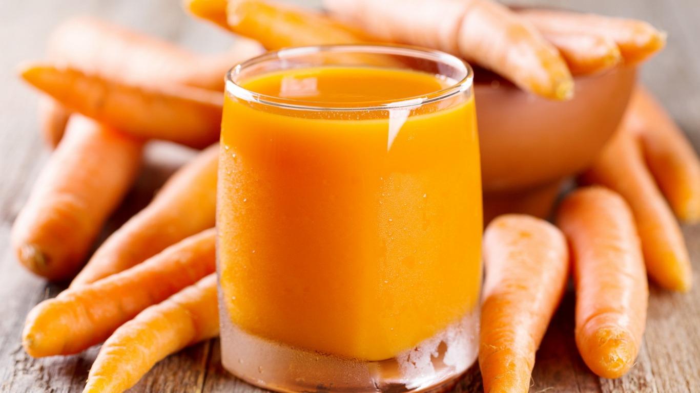 Коктейль «Морковь и имбирь» эликсир красоты и здоровья!