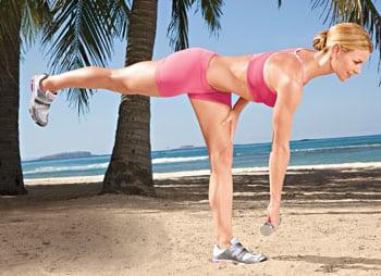 7 эффективных упражнения для плоского живота и упругих ягодиц