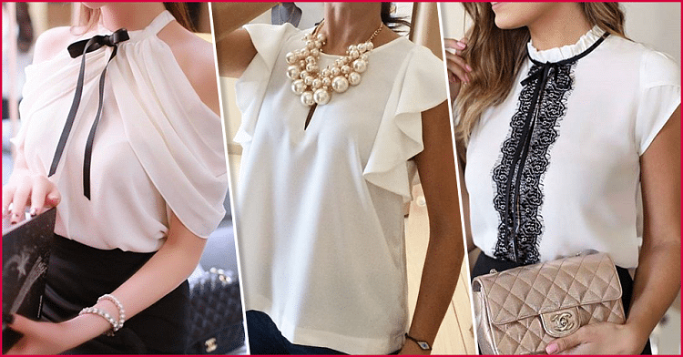 Летние блузки