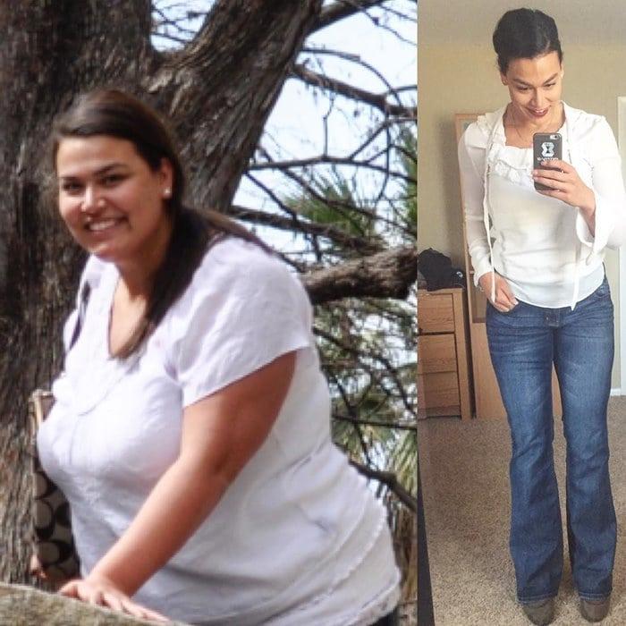 Реальная история похудения Эрики Луго: Минус 72 кг за 2 года