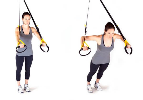 Функциональные упражнения с TRX петлями