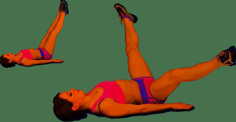 О пользе и разновидностях упражнения «ножницы»!