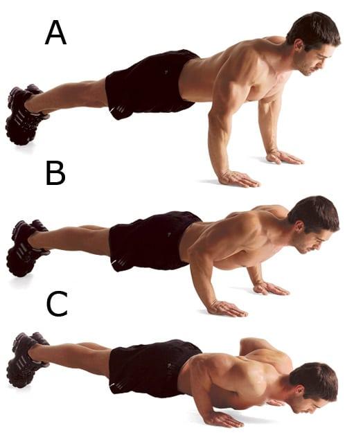 Отжимания от пола для грудных мышц: правильная техника