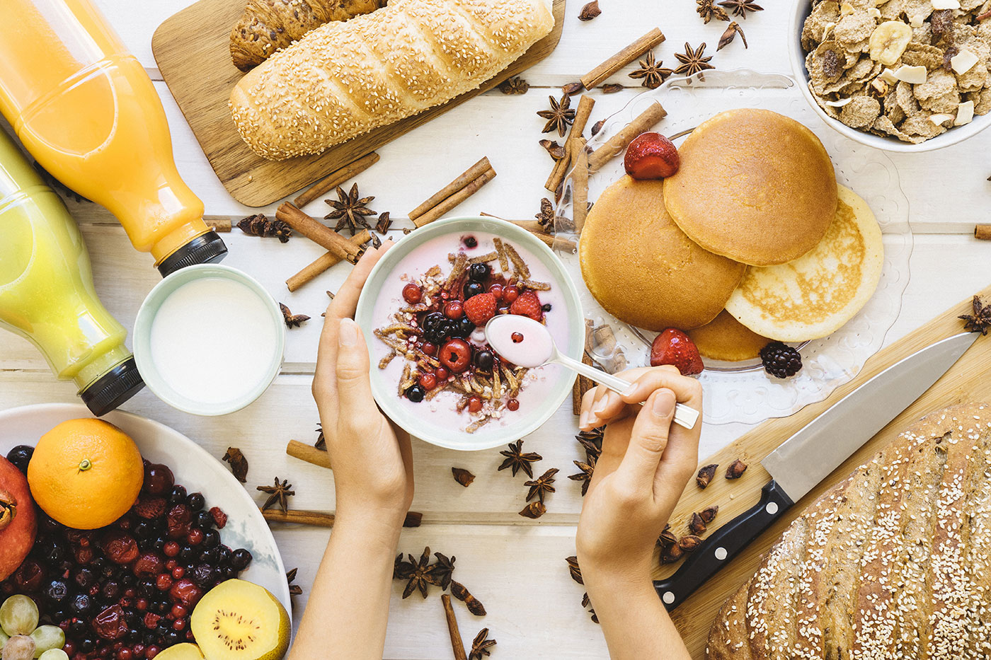 Правильный завтрак: меню на неделю