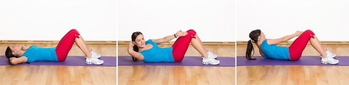 Комплекс упражнений для осиной талии и плоского живота